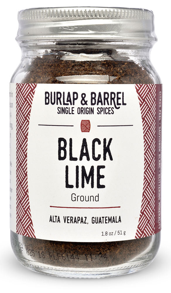 Ground Black Lime from Burlap & Barrel