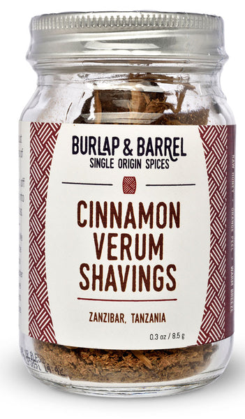Cinnamon Verum Shavings from Burlap & Barrel