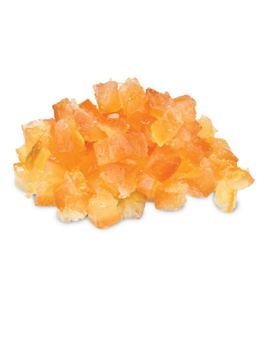 Candied Lemon Peel Cubes