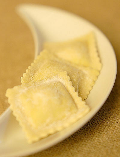 Lemon Ricotta Fresh Ravioli