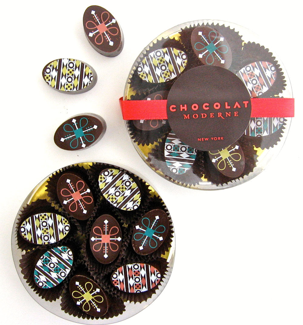 Dark Chocolate Truffle Easter Eggs from Chocolat Moderne