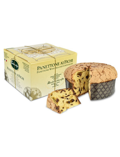 Fig & Dark Chocolate Panettone from Colavolpe