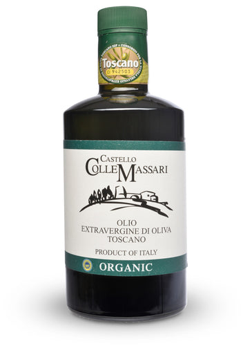 Castello ColleMassari IGP Organic Extra Virgin Olive Oil