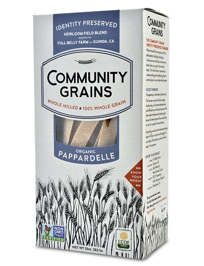 Community Grains 'IP' Organic Pappardelle Whole Grain Pasta