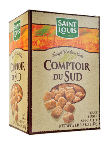 Brown Cane Sugar Cubes from Comptoir du Sud