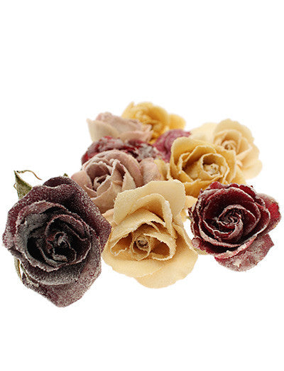 Crystallized Whole Roses