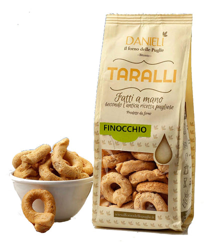 Taralli Crackers with Fennel from Danieli