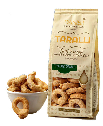Traditional Taralli Crackers from Danieli