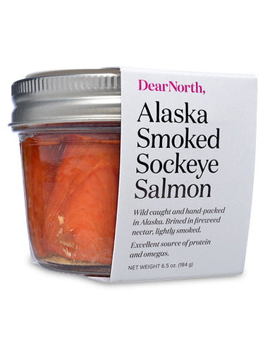 Wild Alaska Smoked Sockeye Salmon from DearNorth