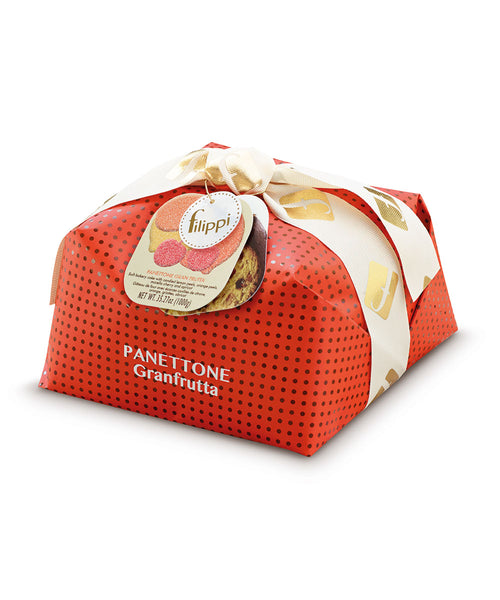 Panettone Granfrutta (Mixed Fruit) from Pasticceria Filippi