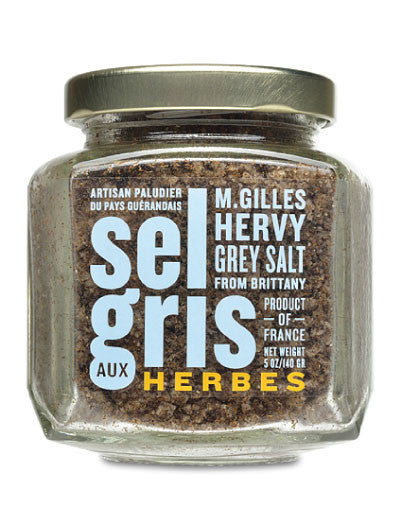 Sel Gris with Herbs from M. Gilles Hervy