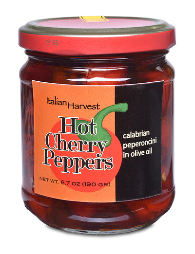 Hot Cherry Peppers from Calabria