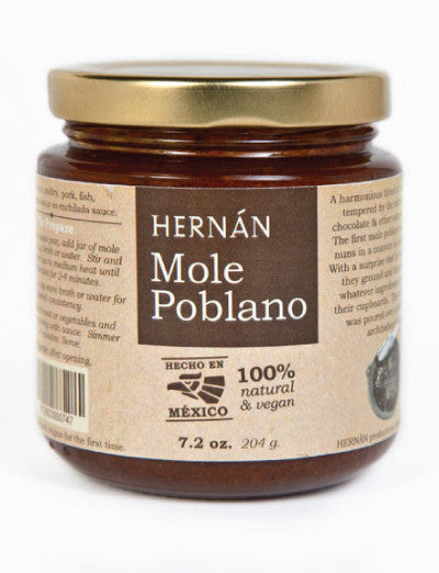 Mole Poblano Paste from Hernán