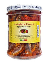 Spicy Anchovies in Olive Oil from IASA