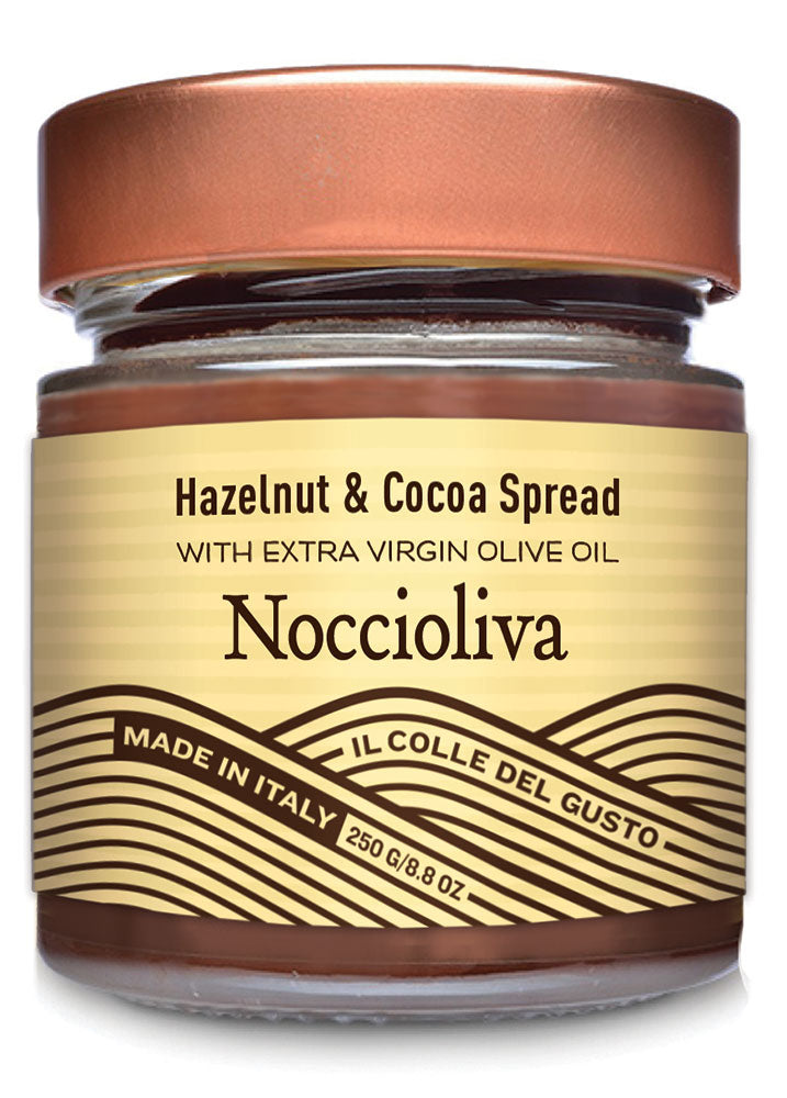 Smooth Hazelnut Chocolate Spread with Extra Virgin Olive Oil - Noccioliva