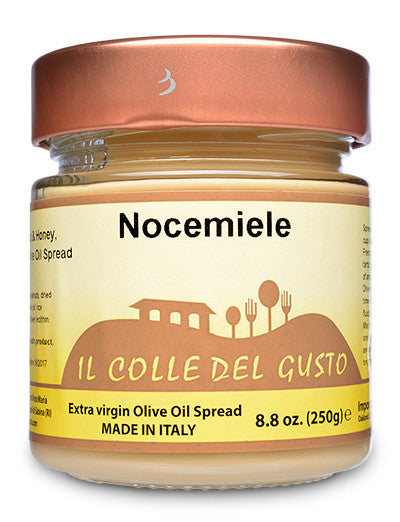 Sorrento Walnut & Honey Spread with Extra Virgin Olive Oil - Nocemiele