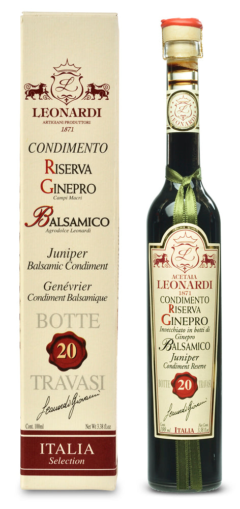 Juniper Wood Balsamic Condimento