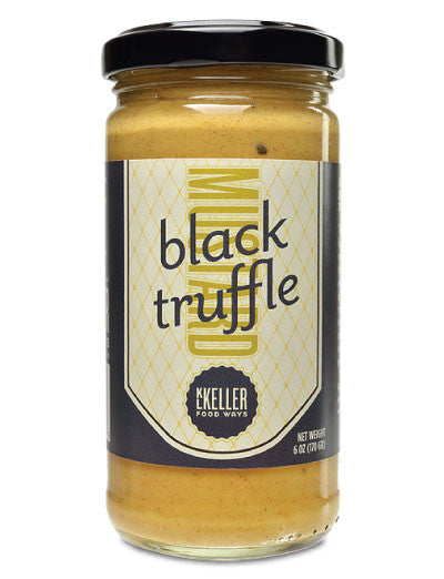 Black Truffle Mustard from KL Keller