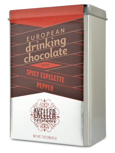 Spicy Espelette Pepper Drinking Chocolate