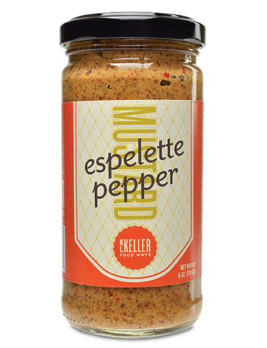Espelette Pepper Mustard from KL Keller