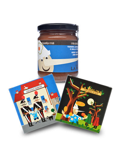 Pinocchio Gianduja & Chocolate Gift Set