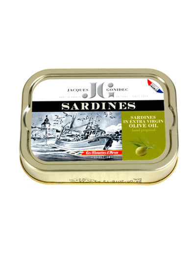 Sardines in Extra Virgin Olive Oil from Les Mouettes d'Arvor