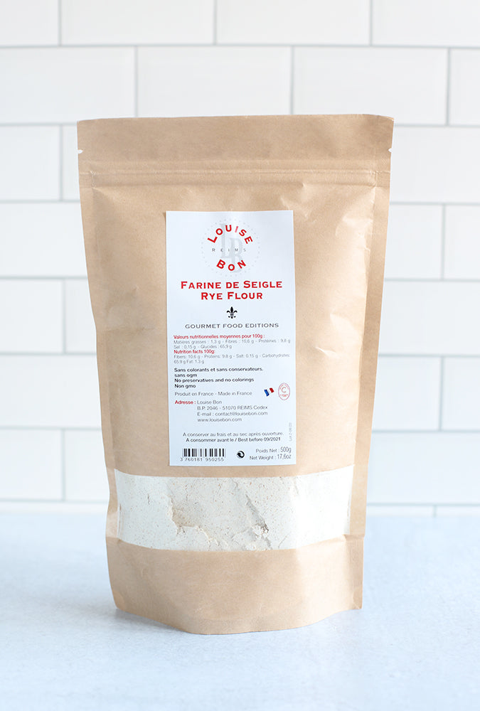 French Rye Flour from Louise Bon