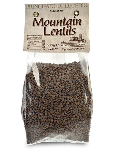 Mountain Lentils from Principato di Lucedio