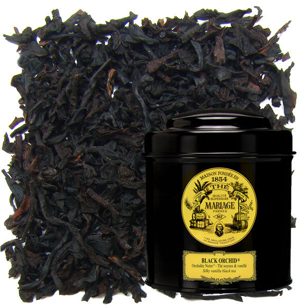 Black Orchid Black Tea by Mariage Frères (loose leaf)