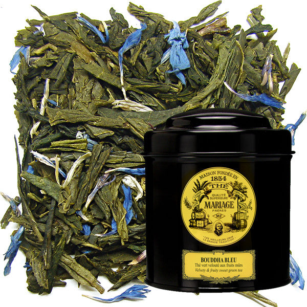 Bouddha Bleu Green Tea by Mariage Frères (loose leaf)