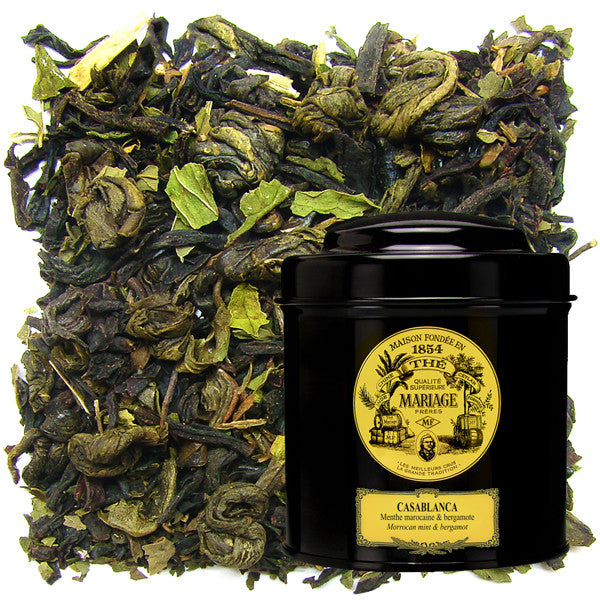 Casablanca Tea Green/Black Tea Blend by Mariage Frères (loose leaf)