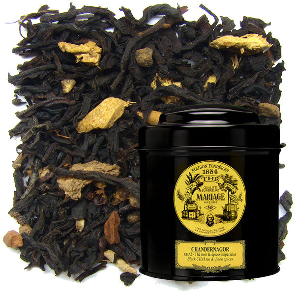 Chandernagor Chai Black Tea by Mariage Frères (loose leaf)