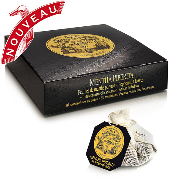 Peppermint Tea by Mariage Frères - Box of 30 tea bags