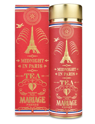 Midnight in Paris Tea from Mariage Frères (Rooibos/Red tea)