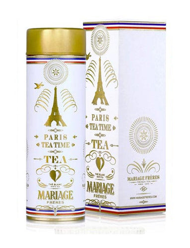 Paris Tea Time White Tea by Mariage Frères (loose leaf)