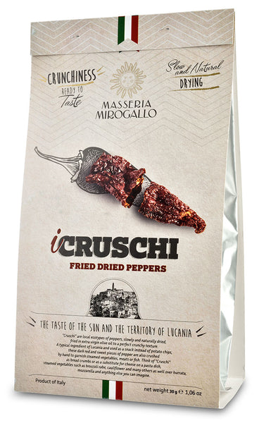 Fried Dried Peppers (Peperoni Cruschi) from Masseria Mirogallo