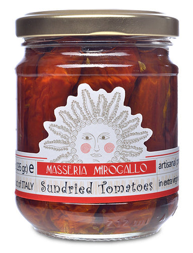 Sundried Tomatoes in Extra Virgin Olive Oil from Masseria Mirogallo