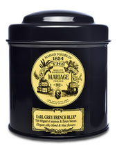 Earl Grey French Blue Black Tea by Mariage Frères (100g tea tin loose leaf)