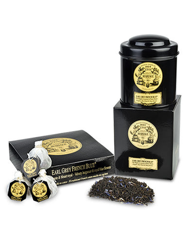 Earl Grey French Blue Black Tea by Mariage Frères