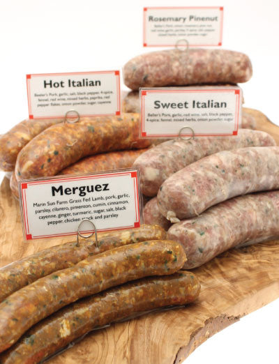 Rosemary Pine Nut Pork Sausage