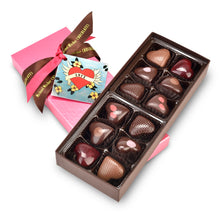 12-Piece Chocolate Heart Box from Michael Mischer