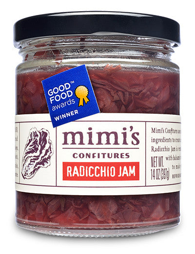 Radicchio Jam from Mimi's Confitures