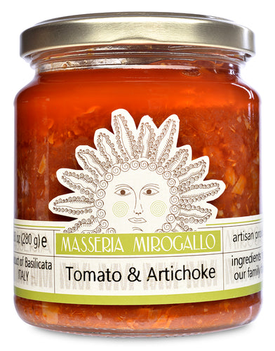 Tomato Sauce with Artichokes from Masseria Mirogallo
