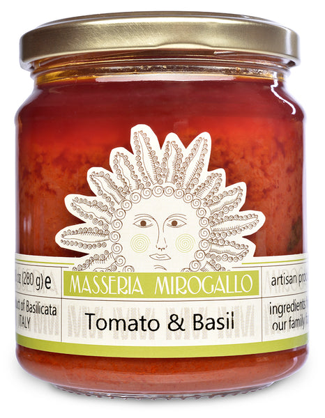 Tomato Sauce with Basil from Masseria Mirogallo