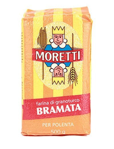 Coarse Yellow Corn Polenta from Moretti