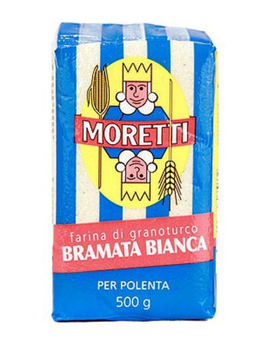 White Corn Polenta from Moretti