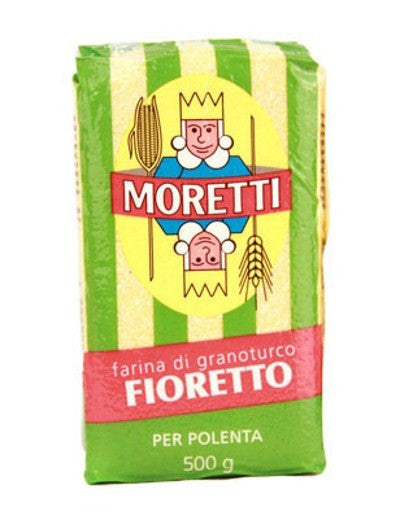 Fine Yellow Corn Polenta from Moretti