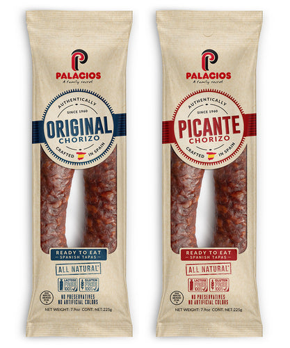 Spanish Chorizo from Palacios – Sweet & Hot
