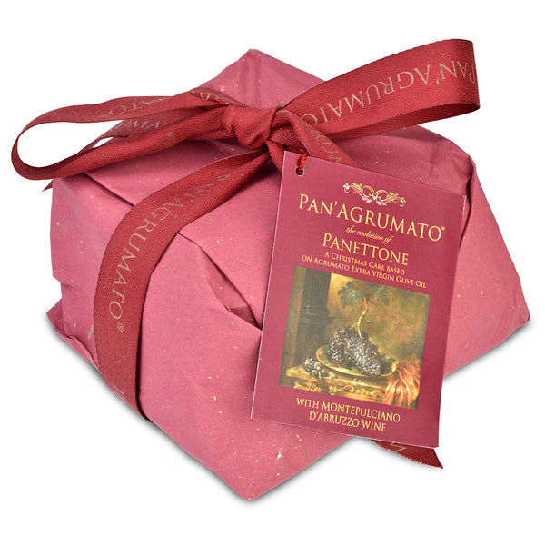 Pan'Agrumato Panettone with Montepulciano Wine