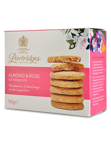 Partridges Almond & Rose Butter Biscuits